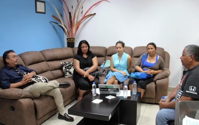 02.- Alcalde, Francisco Pelayo brindo todo respaldo al grupo Vigilantes de Bahía Magdalena