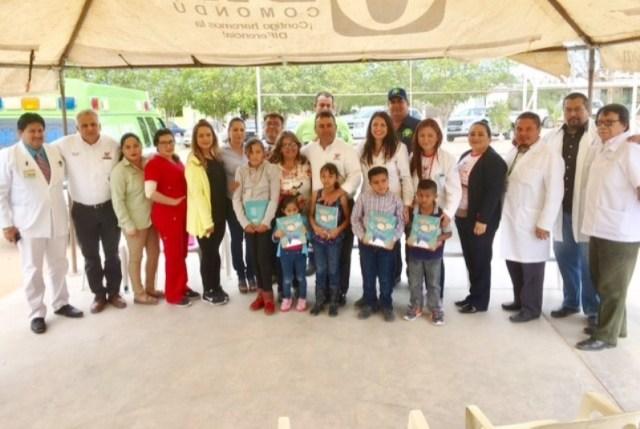 """04.-Alcalde Francisco Pelayo agradecio a todos los que ponen su granito de arena para ser posible la jornada """"Travesía del Corazón"""" en apoyo a los que menos tienen."""