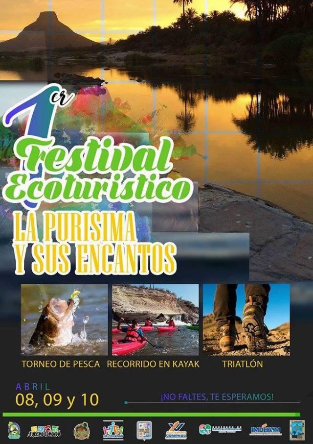 05.-Ayuntamiento de Comondú te invita al 1er Festival Turístico ¨La Purísima y sus Encantos 2017 que se llevará a cabo del 8 al 10 de abril.